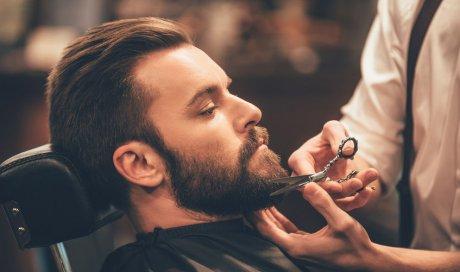 Taille de barbe par barbier